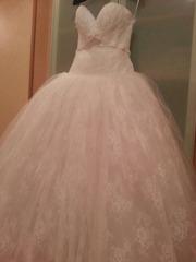 Продаю шикарное и счастливое свадебное платье