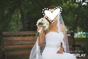 Свадебное платье  новой коллекции 2015 фата и кольца в подарок