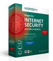 Антивирус Kaspersky Internet Security 2ПК/1год BOX в Саратове
