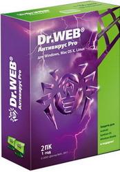 Антивирус Dr.Web 2ПК/1год BOX в Саратове