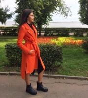 Продам модное пальто S