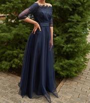 Шикарное вечернее б/у платье