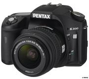 Продаю зеркальный фотоаппарат Pentax k200d